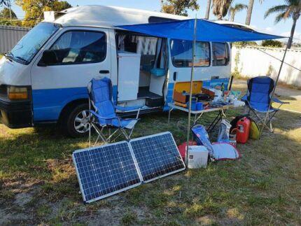 Campervan Rental - Toyota Hiace Diesel