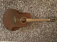 Ibanez Exotic Wood AEW40CD-NT Acoustic-Electric Semi Acoustic Guitar