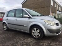 renault scenic mpv 1.6 lovely spacious car low miles drives magnificently well 2 keys all paperwork