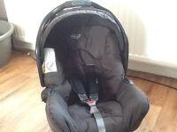 Graco junior baby car seat black