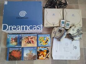 Shenmue 1 and 2 + Sega Dreamcast consoles