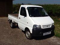 Suzuki Carry Pick up, 03, Low Mileage, no VAT.