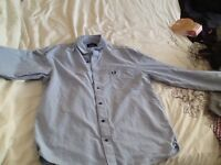 Fred Perry long sleeved shirt