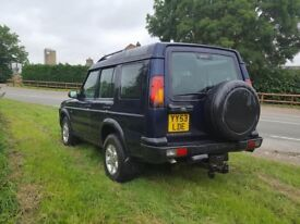 Landrover discovery td5 53 plate