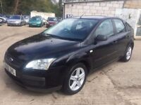 ** NEWTON CARS ** 06 FORD FOCUS 1.6 LX, 5 DOOR, GOOD OVERALL, ALLOYS, FULL MOT SUPPLIED, CALL US