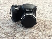 Canon Powershot digital camera and accessories