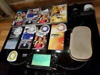 Sony PSP Handheld Console With Games, Memory Card, Case & Charger
