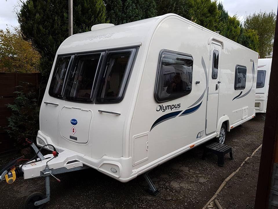 Bailey Olympus 530/4 4 Berth caravan 2012, FIXED BED, Awning, VGC Bargain !!!