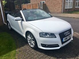 Stunning Audi A3 Cabriolet - FSH, red leather interior, immaculate!