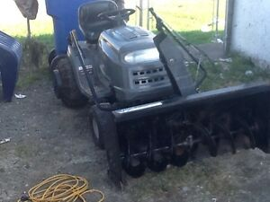 RIDING MOWER MTD PRO WITH SNOWBLOWER