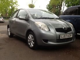 Toyota Yaris automatic zinc 1 owner low mileage service history