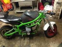 33cc mini moto