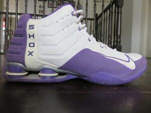 Nike SHOX Basketball Shoes - Purple - Size 11.5