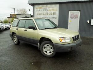 SUBARU FORESTER L 2002***AWD,CRUISE,AUTOMATIQUE***