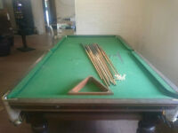 Pool/Snooker Table - Reasonable condition for price
