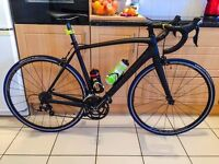 Specialized full carbon road bike
