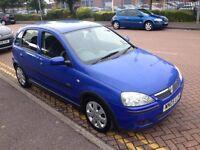 2005 05 Reg Vauxhall Corsa 1.3 CDTi Diesel 16v SXi, 5 Door, Manual, £30 a year road tax! Met Blue