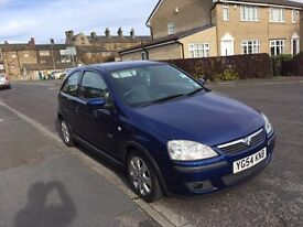 For sale Vauxhall Corsa Sxi twinport 54 plate 46800 miles Excellent condition.