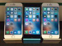 Apple iPhone 6 | 64GB | Unlocked | Phone Case | £290 | Gold | Black Slate | Silver | Warranty