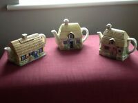Decorative ceramic teapots