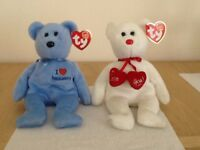 2 Ty Beanie Babies with original tags