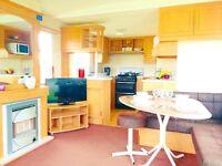 Starter Static Caravan Just Come Into Stock At Sandylands Ayrshire Open 12 Months