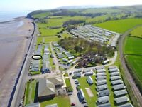 **12 month season**Static holiday homes for sale on the sea with views across the quantocks