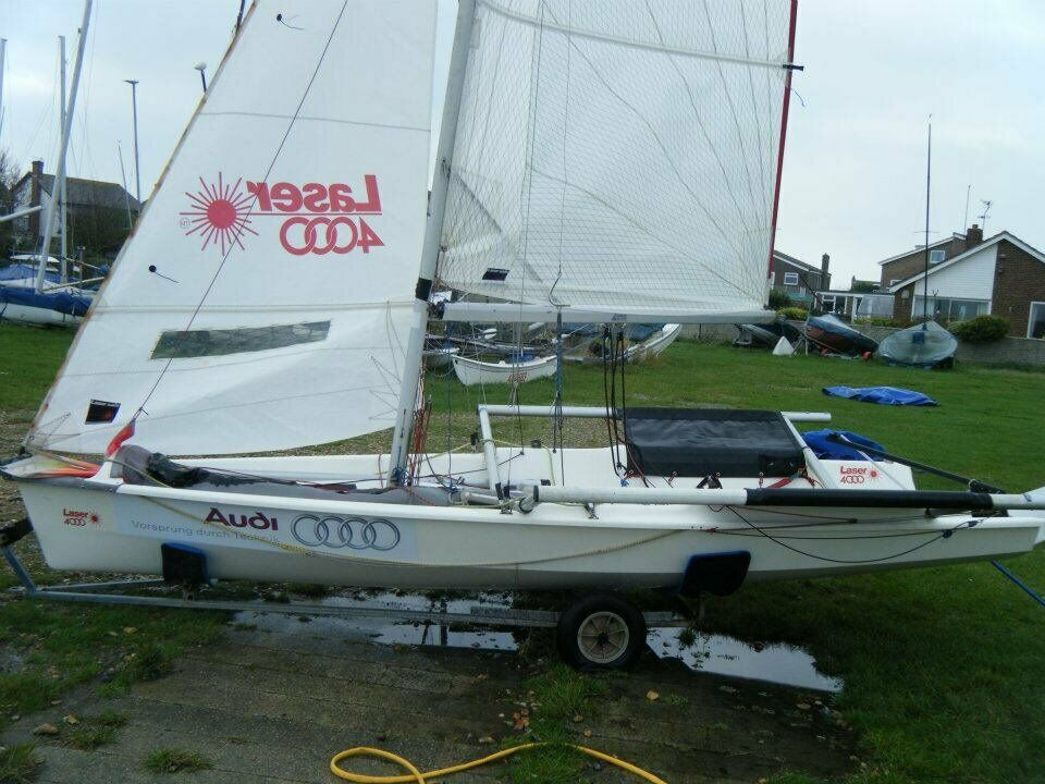 Laser 4000 Sailing Dinghy Newly Refirbished Foils Kite