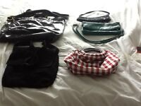 5 handbags all to go as a job lot