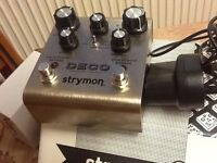 Strymon Deco tape simulation and double tracker pedal