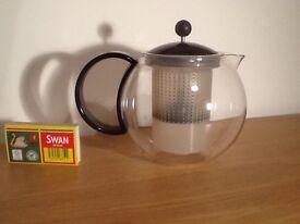 Bodie glass teapot