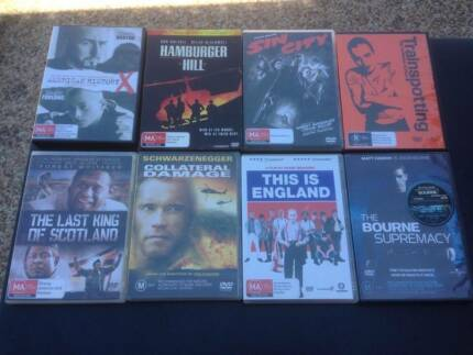 DVD's price as per description or the lot for $150 ono Burdell Townsville Surrounds Preview