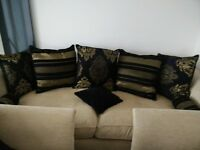 DFS quality 3 seater sofa + 2 matching armchairs