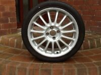 MG ZR alloy wheel for sale