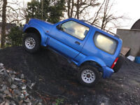 2000 Suzuki Jimny 4x4 off road prepared