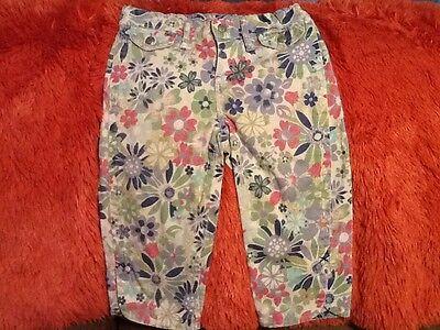 Childrens Place Floral Capri Pants Size 10