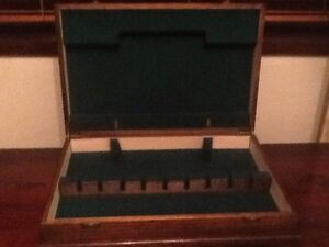 ANTIQUE WOODEN CUTLERY CANTEEN BOX CAN BE MODIFIED TO JEWELLERY BOX Richardson Tuggeranong Preview