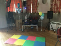 PA, Karaoke system Hire, Hot dog grill,Birthday party, DJ, disco light , Gobo projection, Stage Hire