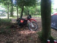 Barn find/nonrunner motorbike