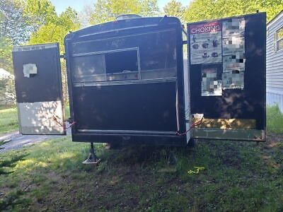 7 X 14 Mobile Kitchen Food Concession Trailer For Sale In New York