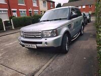 LAND ROVER RANGE ROVER SPORTS 3.6td V8 mint condition long mot