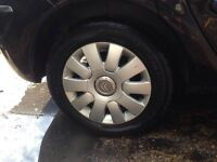 Genuine Citroen Alloy Wheels 4 tyres come used but plenty tread left