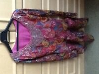 Women's tunic/tops,NEW,size 10-12,some hand embroidery,heavy fabrics,all very beautiful.