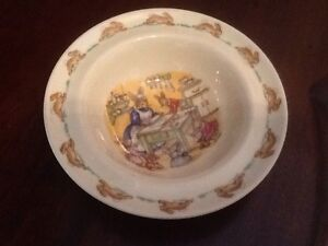 BUNNYKINS CEREAL BOWL IN UNUSED CONDITION Richardson Tuggeranong Preview