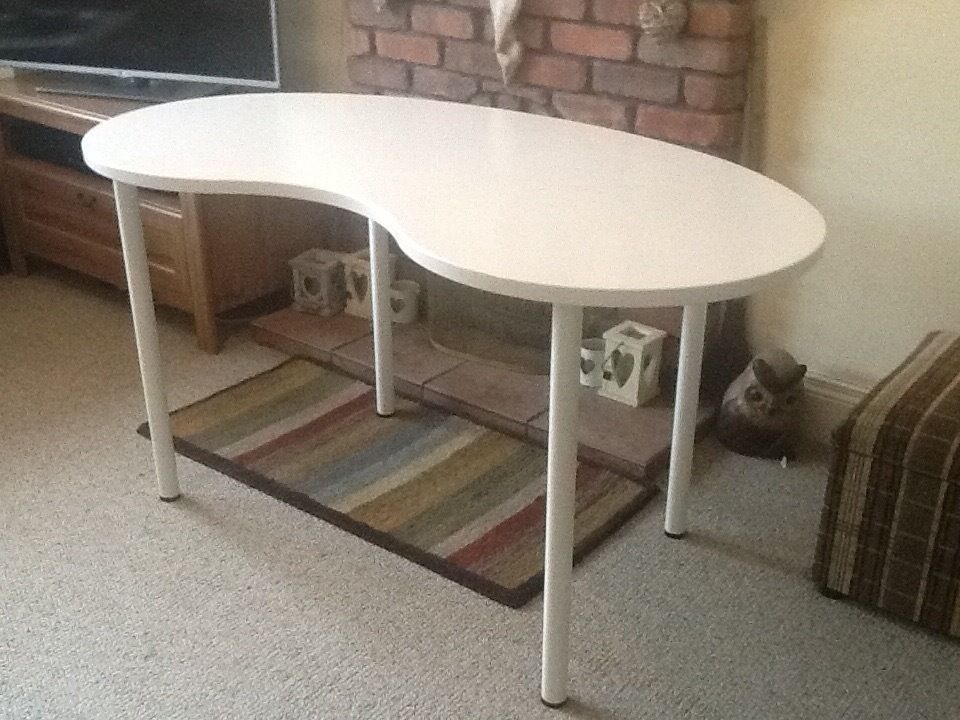Ikea hissmon table could be desk small table 30 in for Table up and down ikea