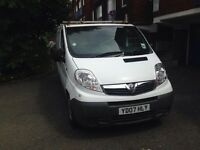 Vauxhall Vivaro 2.0CDTi REG 2007 NEW SHAPE SPARE OR REPAIR WONT START