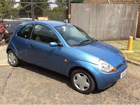FORD KA COLLECTION HATCHBACK LOW MILES, 1299cc, 3 Doors, 2002, 40,000 Miles