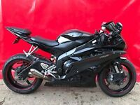 YAMAHA YZF R6 R RAVEN - 2006 22K MILES* LONG MOT - GREAT CONDITION 3 KEYS + RED KEY EXHAUST 2CO 13'S