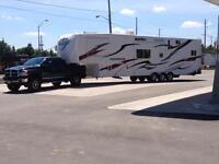 trailer relocation, towing and more - get a quote today