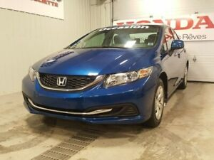 2013 Honda Civic LX bluetooth automatique garantie